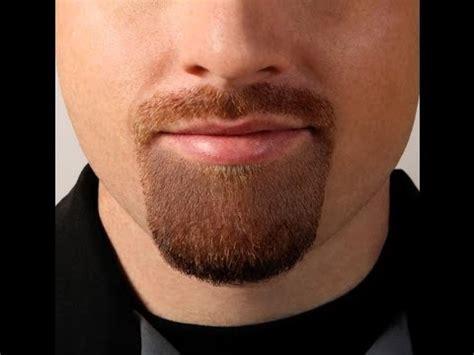 goatee shaving template youtube