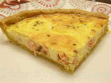 cuisiner saumon frais recettes de tarte au saumon de cuisiner et papoter