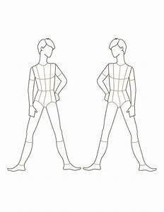 Croqui Fashion Model Templates   ... male fashion figure ...