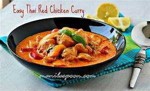 Easy Thai Red Chicken Curry | Manila Spoon