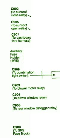 Honda Prelude Mini Fuse Box Diagram Schematic Diagrams