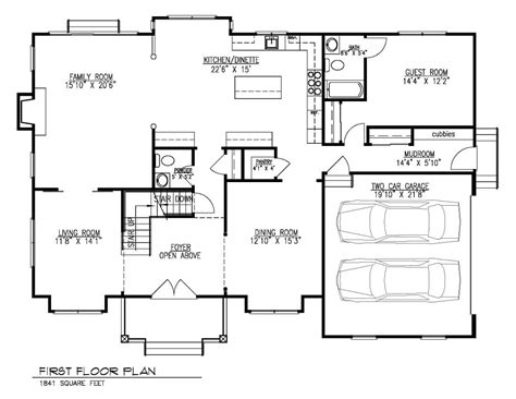 Custom Home Floor Plans -westfield, Nj