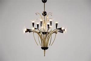 Luminaire Suspension Design Italien : lustre italien design italien ann es 50 toil danke galerie ~ Carolinahurricanesstore.com Idées de Décoration