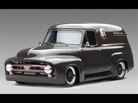 Ford Pickup Trucks 1953 Ford Fr100 Panel Truck Cammer