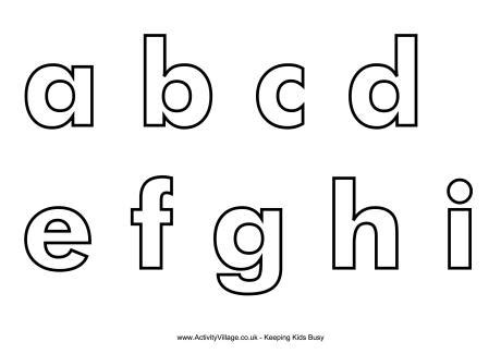 alphabet templates to cut out printable letter templates