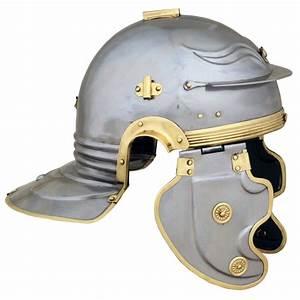 Gallic 'F' Roman Helmet (Becancon) AH6315B Deepeeka