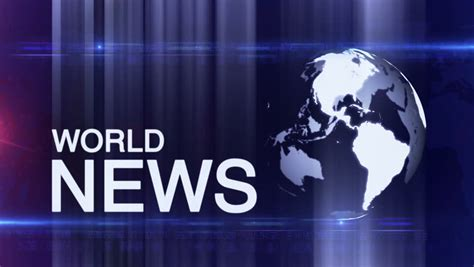 World News by World News Background Stock Footage 9335000