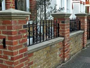 Images about brick fence on jasmine yard