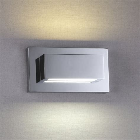up and down wall lights 1752cc led chrome up down light wall light