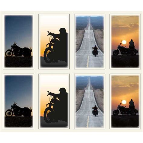 memorial cards memorial card motorcycle