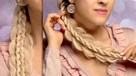 cute easy hairstyles for long straight hair for school