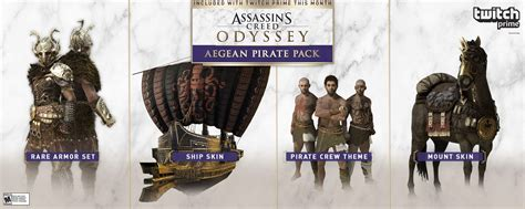 twitch prime assassins creed odyssey loot features