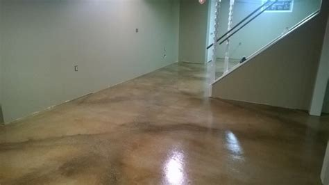 ideas  water based concrete stain