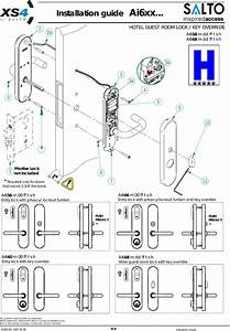 Salto Systems S L A9xx Salto Proximity Mifare Lock User