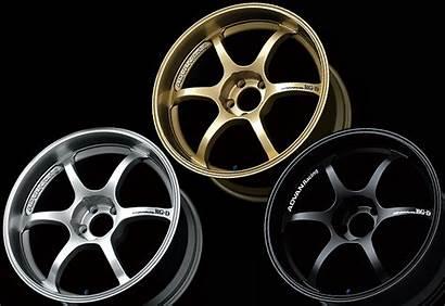 スポーク Wheel リム Advan Yokohama デザイン キャリパー