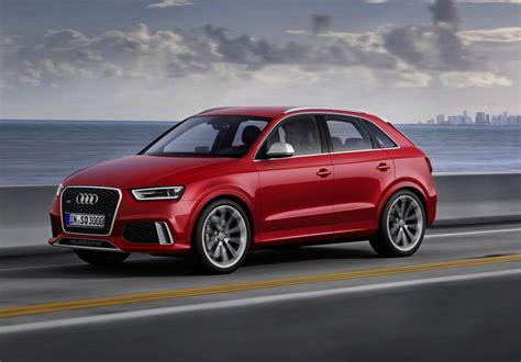 Audi Q3 by 2014 Audi Rs Q3 Production Version Revealed Performancedrive