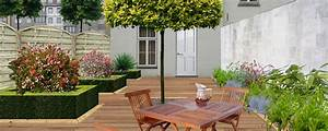 decoration jardin de ville With amenagement de jardin contemporain 9 amenager un balcon en ville detente jardin