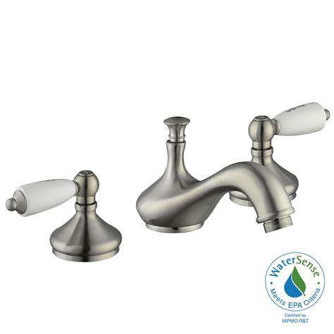 Glacier Bay Bathroom Sink Faucets by Glacier Bay Teapot 8 In Widespread 2 Handle Low Arc