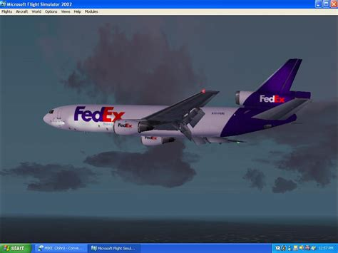 FS2002 FEDEX Heading To Memphis (349) SurClaro Photos