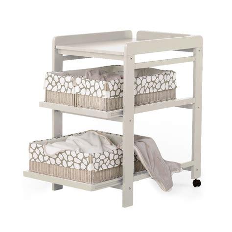 chambres bébé pas cher table à langer comfort avec roues grisato quax pour chambre enfant les enfants du design