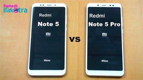 redmi note 5 pro vs note 5 speed test and compare