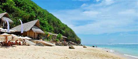 wisata pantai bali  pantai   sepi wisatawan