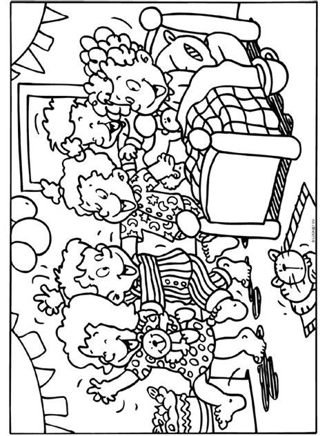 Feest Kleurplaaten by Kleurplaat Feest Bed Kleurplaten Nl
