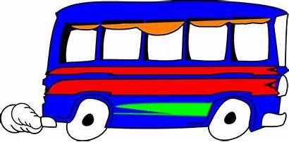Mobil Kartun Bus Clipart Clip Clker Cliparts