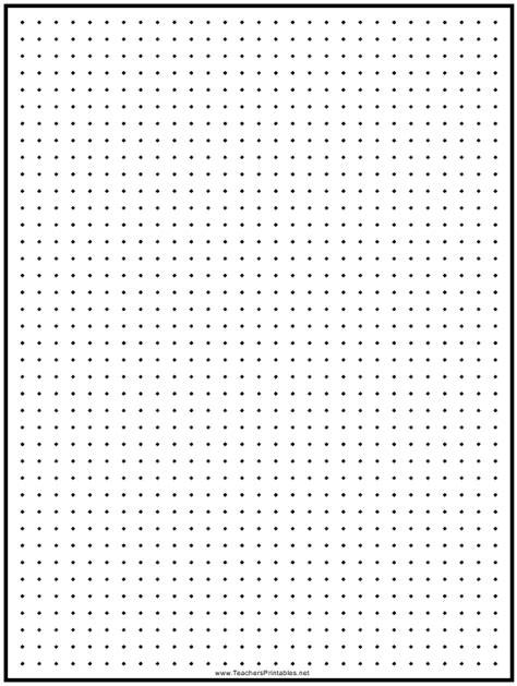 black   dot graph paper template