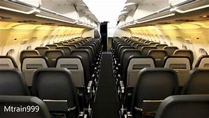Frontier Airlines A320 Cabin