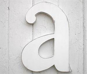 wooden letters 12 a lowercase distressed white wood With 12 inch white wooden letters
