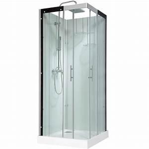 Säulentisch 80 X 80 : cabine de douche carr 80x80 cm thalaglass 2 mitigeur leroy merlin ~ Bigdaddyawards.com Haus und Dekorationen