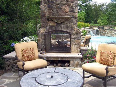 2 Sided Outdoor Fireplace - 17 best ideas about two sided fireplace on