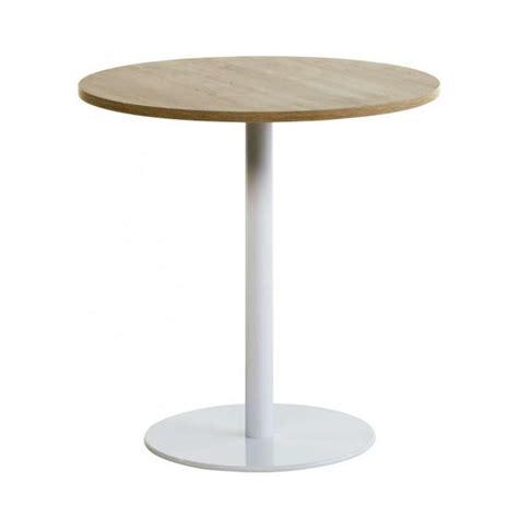 table de cuisine ronde en verre pied central finest table de cuisine ronde en stratifi avec pied