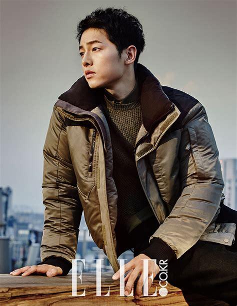 Catching Up With Song Joong Ki Elle & Harper's Bazaar
