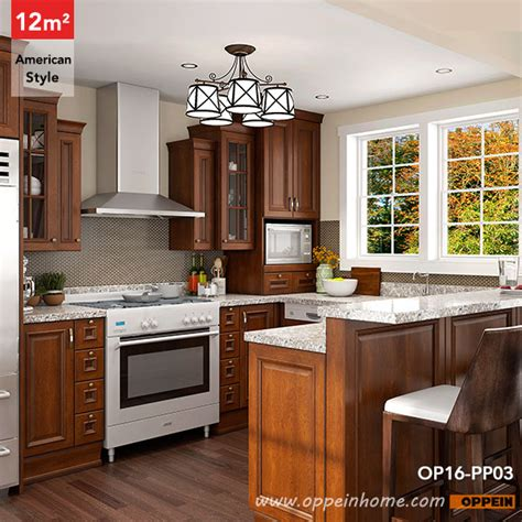 square shaped kitchen designs op16 pp03 12 square meters u shaped american style 5675