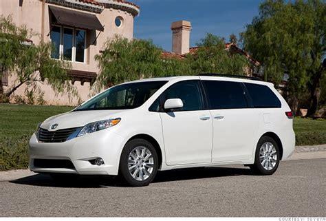 consumer reports  reliable cars minivanwagon