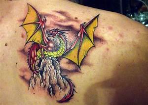 Drachen Tattoo Oberarm : drachen tattoo arm drachen oberarm tattoo tattoovorlage tattoo drachen brust schulter arm ~ Frokenaadalensverden.com Haus und Dekorationen