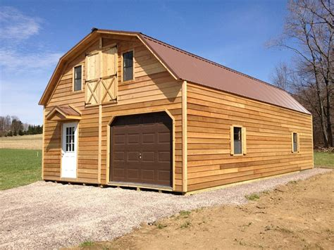 2 Story Garage Packages by 2 Story 2 Car Garages The Barn Raiser