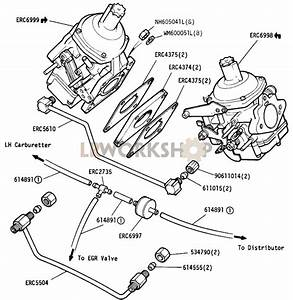 Carburetters And Fuel Pipes - 109in V8 Ece 15-03