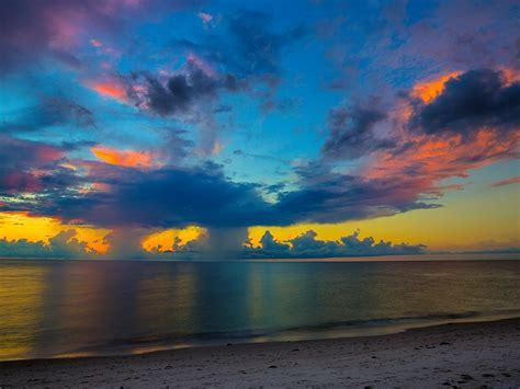 1600x1200 Florida Beach Sunset 1600x1200 Resolution HD 4k ...
