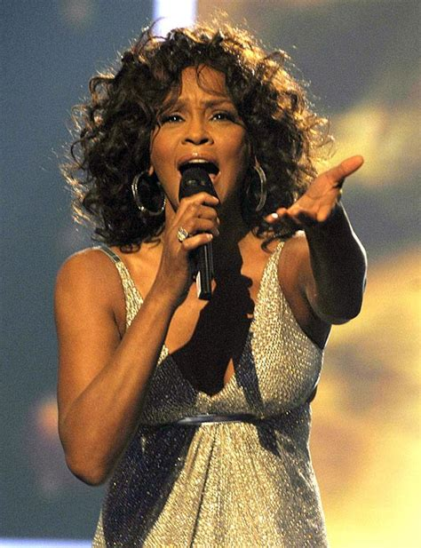 remix  whitney houston famous african american singer