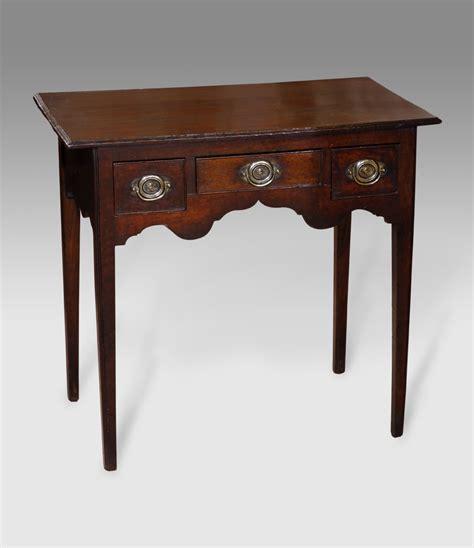 antique table l markings antique oak lowboy georgian lowboy georgian side table