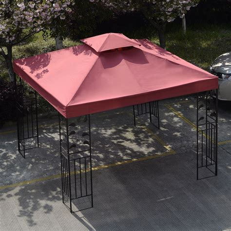 gazebo cover replacement equipment outdoor 10 x 10 patio canopy gazebo top