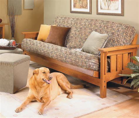 Sofa Bed Plans by Craftsman Style Futon Sofa Bed