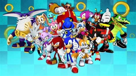 Sonic the Hedgehog and Friends Characters