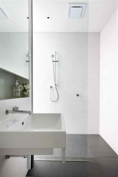 scandinavian bathroom designs white wall tiles grey floor
