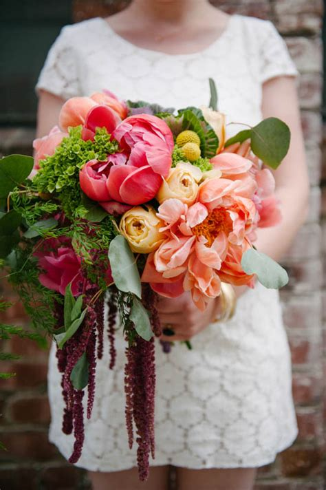 how to make a colorful oversized wedding bouquet a practical wedding