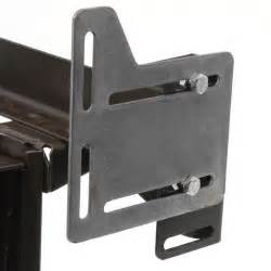 bed claw queen bed modification plate headboard attachment bracket set of 2 094922216281