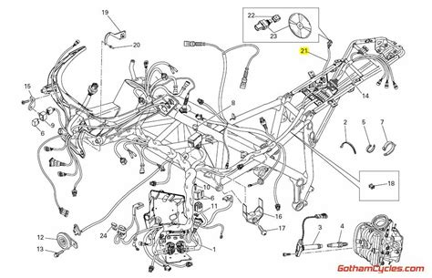 Ducati Evo 1100 Wiring Diagram by Ducati Data Acquisition Wiring Harness 848 1098 Superbike